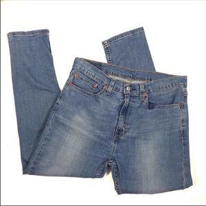Levi's 510 High Rise Skinny Mom Jeans Sz 34